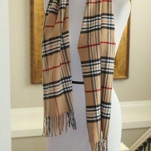 Women's/mens fall scarf plaid